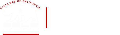 The State Bar of California Board of Legal Specialization Badge